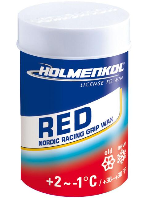 Holmenkol Grip Grip Wax 45g Red